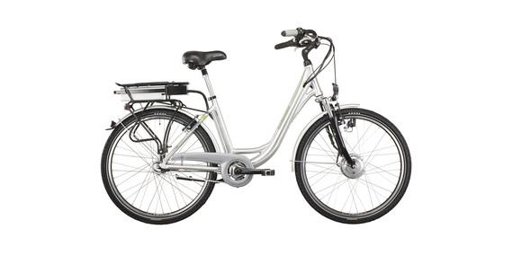 Hawk Green Energy 7 Bicicletta elettrica da città argento